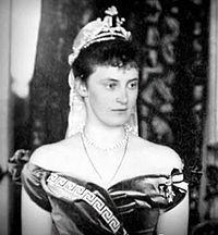 Duchesse Alexandrine de Mecklembourg-Schwerin (1879-1952) mariée au roi Christian X de Danemark