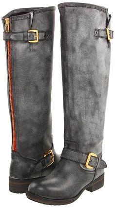 YEAH!!! J'ai finalement mes riding boots grises. Avec de la ...