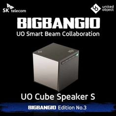 UO BIGBANG Limited Edition Cube Speaker S Portable Bluetooth Woofer +Photo Card. NEW Limited BIGBANG Edition Portable Speaker S !. Power : 3A / 12V, DC IN Jack / Item Weight : 3.2 ounces Size : 2.2 x 2.2 x 2.2 inches Manufacturer : SK Telecom Made in : Korea. Celebrating Bigbang's 10-year anniversary. Beautiful crafted sound containing eve the smallest of waves. Made by the hands of masters. O Cube speaker S is a bluetooth speaker desinged side-by-side with the smart Beam NX BB10. BIGBANG...
