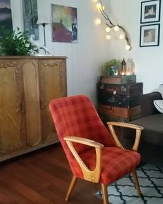 Livingroom chair retro