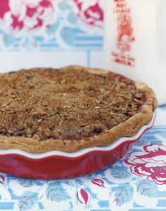 Delicious: Cherry Crumble Pie #recipe