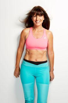Celebrity workout: Davina McCall's 7 minute masterclass