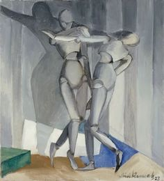 """Väinö Kunnas: """"The Grey Dance"""", oil on canvas, Dimensions: cm x 57 cm, Current location:Herman and Elisabeth Hallonblad Collection; Canvas Artwork, Oil On Canvas, Canvas Prints, Canvas Poster, Digital Museum, Old Paintings, Watercolor Paintings, Art Archive, Art Reproductions"""
