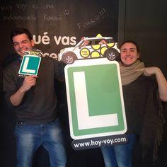 FELIPE REDONDO & NURIA GARCIA!!! #newdriver #hoyvoy #autoescuela #barcelona #granollers