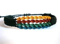 Ηandmade macrame bracelet/Men bracelet/Handwoven por Ancientmacrame