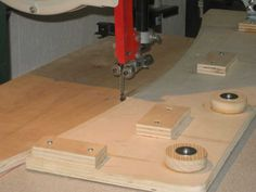 Bandsaw Jig for Perfect Arcs