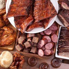Mmmmm MEAT MEAT MEAT! That's what Jack Stack BBQ is allll about. Get yourself a super sampler (ribs, briskets, chopped meat, sausage, wings, omgeverything) and make your next BBQ an epic grill out.