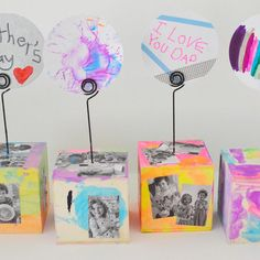 Fantastic Fathers Day Art Projects for Toddlers & Kids of All Ages Diy Father's Day Gifts Easy, Diy Father's Day Crafts, Father's Day Diy, Upcycled Crafts, Spring Crafts, Easy Crafts, Toddler Art Projects, Toddler Crafts, Preschool Crafts