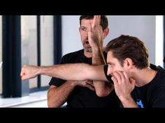 Krav Maga - inside defense (against straight punch) & counter attack