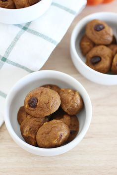 Our basic pumpkin cookie recipe. a bit healthier than traditional cookies, but just as tasty and definitely one of our favorites for pumpkin season.