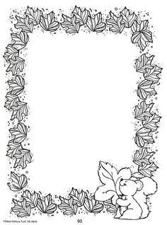 clip - Espe Escribano - Picasa Web Albums Coloring Sheets, Coloring Books, Printable Christmas Coloring Pages, Notebook Cover Design, Boarder Designs, Quiet Book Templates, Black And White Stickers, Doodle Frames, New Mehndi Designs