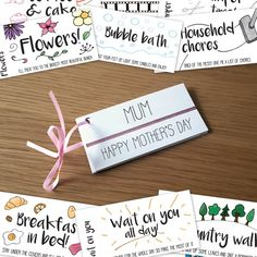 Mother's Day Coupons, Gift Coupons, Custom Gift Cards, Customized Gifts, Fathers Day Presents, Mother Day Gifts, Love Coupons For Him, Mother's Day Gift Card, Birthday Coupons