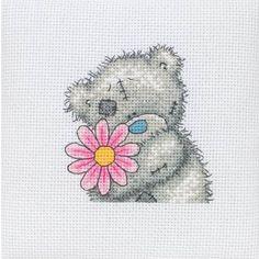 A Little Flower - Tatty Teddy Cross Stitch Kit. Love Tatty Teddy $15.29 @123 stitch
