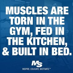 Muscles are torn in the gym..