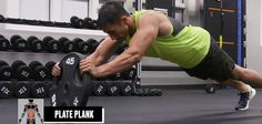 Lower Abs To Obliques: These Weight-Plate Moves Will Hit Every Stomach Muscle