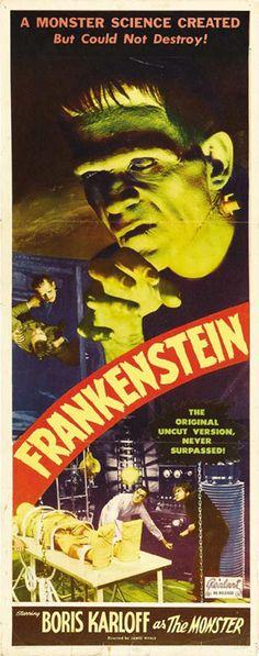 Frankenstein Realart poster 1020417447