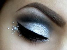 live the silver makeup