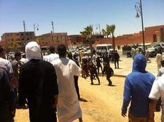 Manifestaciones en Maatala y