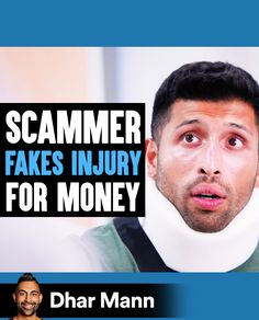 Scammer FAKES INJURY For Money, He Lives To Regret It | Dhar Mann. Your actions always have a way of coming back to you. For more motivational videos, visit DharMann.com #DharMann Life Tips, Life Hacks, Fake Injury, Motivational Videos, Regrets, Comebacks, Money, Silver, Lifehacks