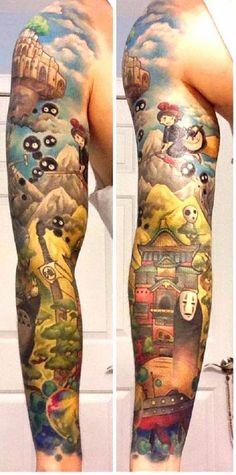 Miyazaki creatives tattoo