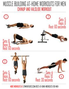 Muscle Building Exercise Routine