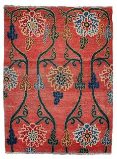 Shop chinese and east asian rugs and other antique and modern rugs from the world's best furniture dealers. Tibetan Rugs, Tibetan Art, Tibetan Dragon, Teal Carpet, Rugs On Carpet, Floor Art, Floor Rugs, Rope Rug, Asian Rugs
