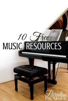 A great list of free homeschool music resources and programs. Check them out. Did we miss yours? Leave us a link.