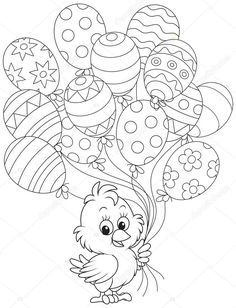 depositphotos_39595765-stock-illustration-easter-chick-with-balloons.jpg (782×1023)