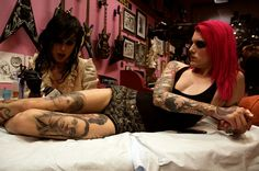 Kat von d tattooing jeffree star