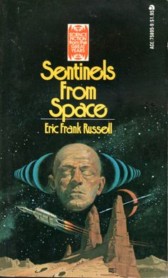 Sentinels from Space - Eric Frank Russell, cover by Vincent Di Fate