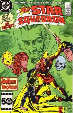 Cover for All-Star Squadron (DC, 1981 series) #49