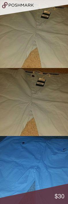 Benson NYC Mens Pale Blue Shorts Benson NYC Shorts