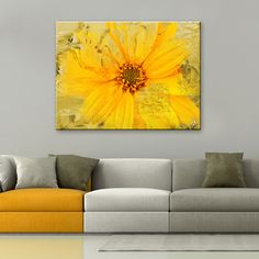 Shop for Ready2HangArt 'Painted Petals XXXVI' Canvas Wall Art. Get free delivery at Overstock.com - Your Online Art Gallery Destination! Get 5% in rewards with Club O!