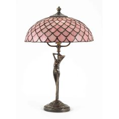 Old Tiffany Lamps | Phoebe Antique Brass Table Lamp with Tiffany glass | Lighting ...