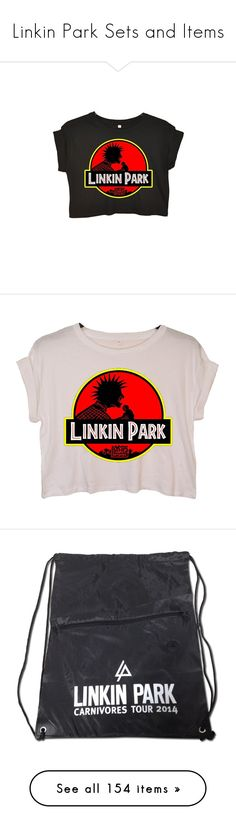 """""""Linkin Park Sets and Items"""" by neverland-is-just-a-dream-away ❤ liked on Polyvore featuring outerwear, tops, pink crop top, pink summer tops, crop tops, summer tops, summer crop tops, costumes, badges and punk rock halloween costume"""
