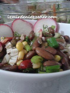 Siyah Fasulye Salatası | İzmirdenlezzetler