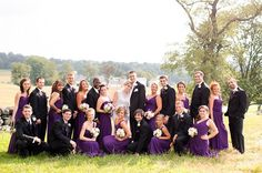 Posing Large Wedding Parties For A Bridal Party Ideas Our