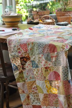 @ Quilting with the Past II: Quilt top