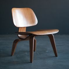 Historically important Eames LCW   CTW set, gift of Charles and Ray Eames   From a unique collection of antique and modern side chairs at http://www.1stdibs.com/furniture/seating/side-chairs/