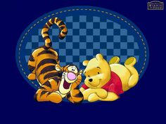 Winnie the Pooh and Tigger Wallpaper - winnie-the-pooh Wallpaper