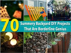 70 Summery Backyard DIY Projects That Are Borderline Genius - Page 5 of 7 -... This.