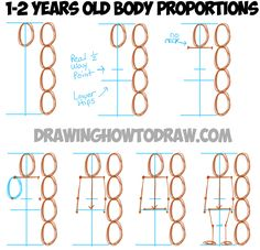 Drawing a 1-2 Year Old Child in the Correct Proportions