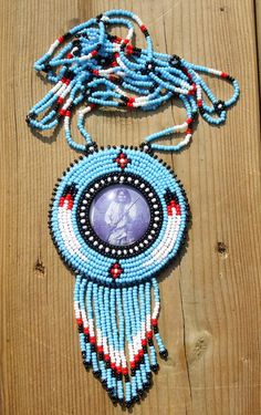 native american beadwork by deancouchie on Etsy, $67.00