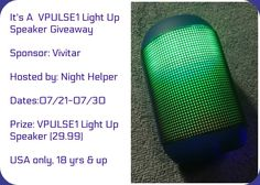 VPULSE1 Light Up Spe