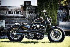 Sportster Harley Sienne Designed by Vida Loca Choppers in 2013
