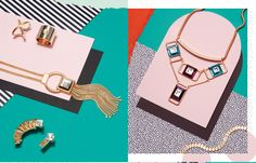 The Algebra of Adornment for Topshop | photography: Jess Bonham, set design: Anna Lomax