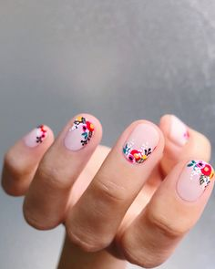 Uñas decoradas. ⓙⓣ