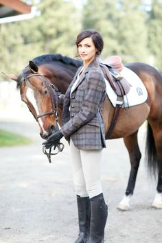 O'Shaughnessey's Fall 2015 Collection: The Tara Hacking Jacket! Equestrian Boots, Equestrian Outfits, Equestrian Style, Equestrian Fashion, Horse Riding, Riding Boots, English Riding, Show Jumping, Horseback Riding