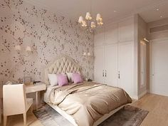 Дизайн интерьера спальни для гостей Girls Bedroom, Bedroom Decor, Exotic Homes, Interior Architecture, Interior Design, Miniature Furniture, Luxurious Bedrooms, Shabby Chic Decor, My Room