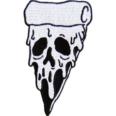 9 cm tall patch with iron on backing. Diy Patches, Cool Patches, Pin And Patches, Punk Patches, Pizza Tattoo, Embroidery Patches, Cute Pins, Back Tattoo, Art Reference